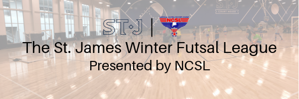 The St. James Youth Winter Futsal League Presented by NCSL
